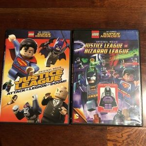 LEGO super herdes 2 lot movie Dvd